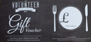 Volunteer Gift Voucher