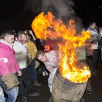 Ottery St Mary Flaming Tar Barrels