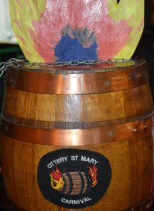 Fundraising tar barrel